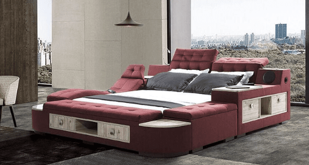 ultimate smart bed x400 red